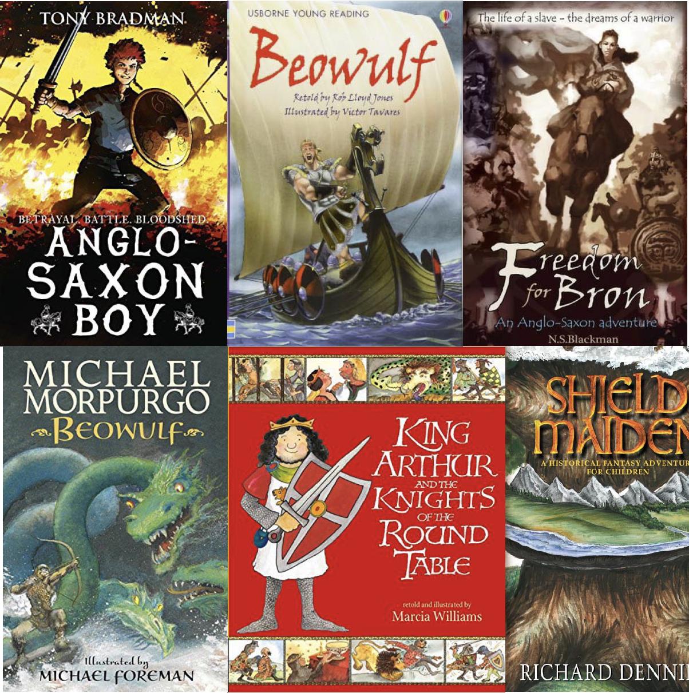 Image result for anglo saxon books ks2