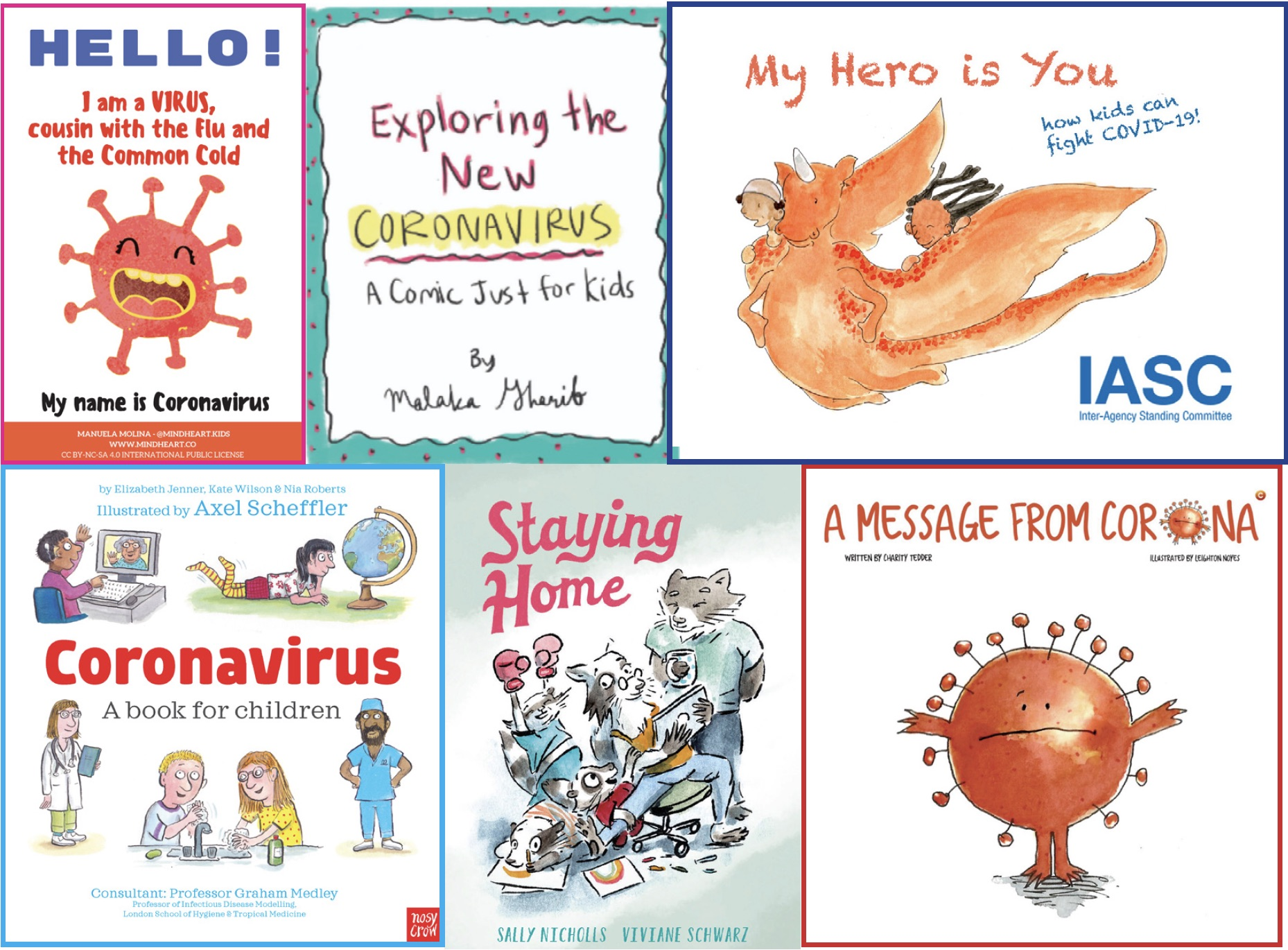 Coronavirus Books For Children Free Digital Books For Kids About Covid 19