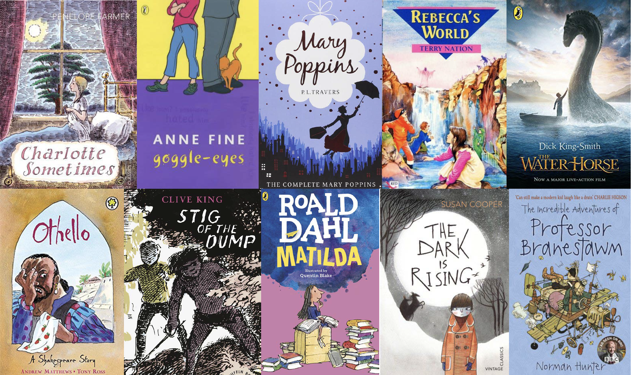 Modern classics for KS2 readers | Best 20th century classics for ...
