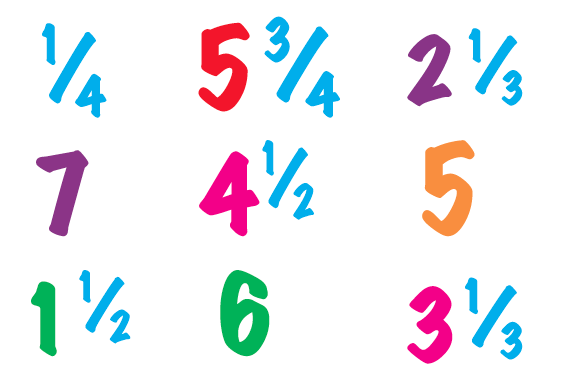 Improper fractions and mixed numbers explained | Fractions ...