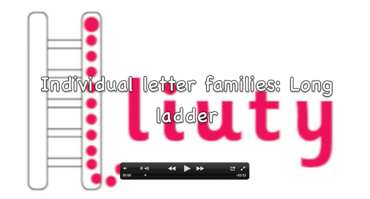 how to explain a ladder run