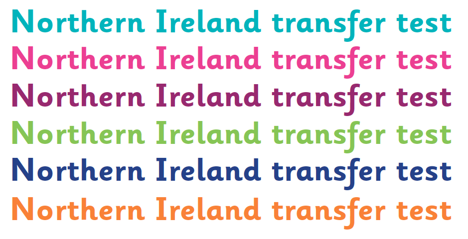 Northern Ireland secondary transfer test | Common Entrance
