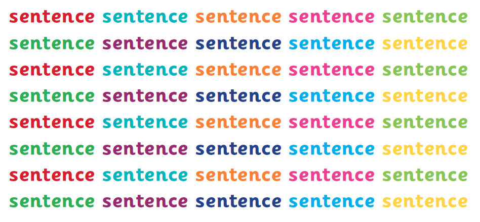 sentence level literacy work explained for primary school parents