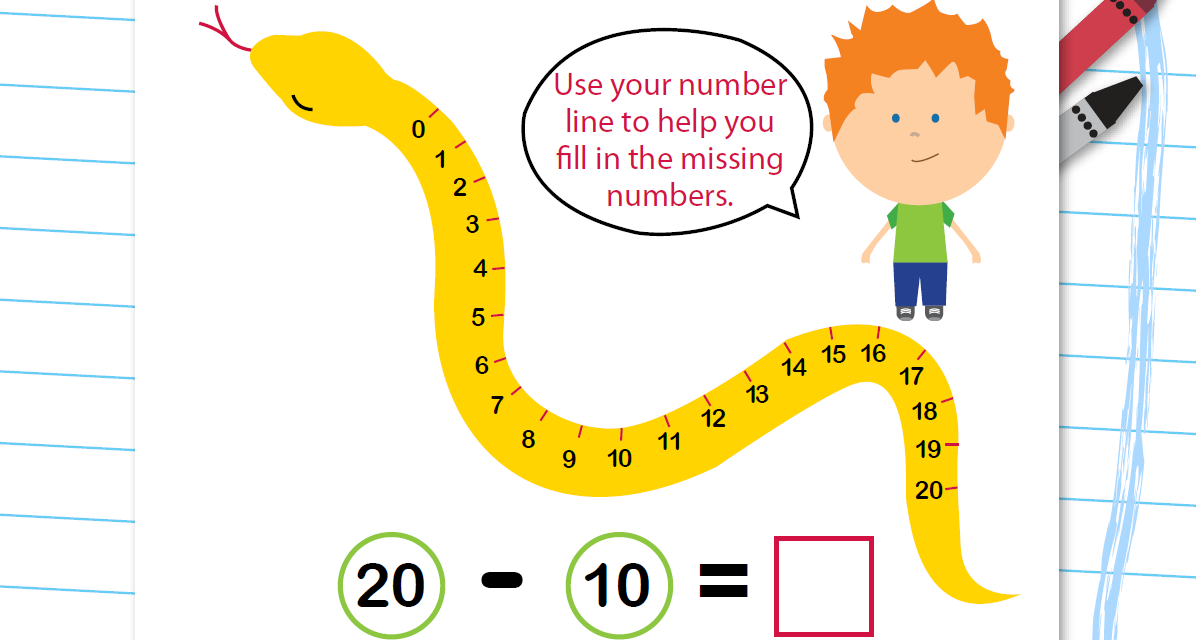This is a photo of Old Fashioned Open Number Line Printable