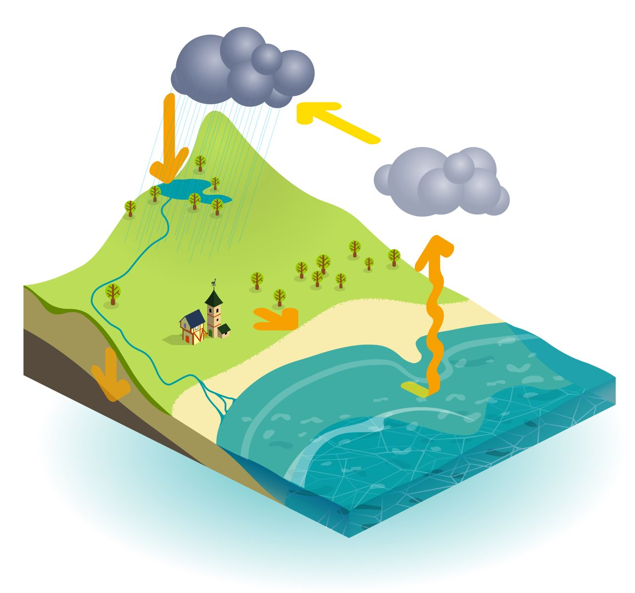 The Water Cycle Explained For Children