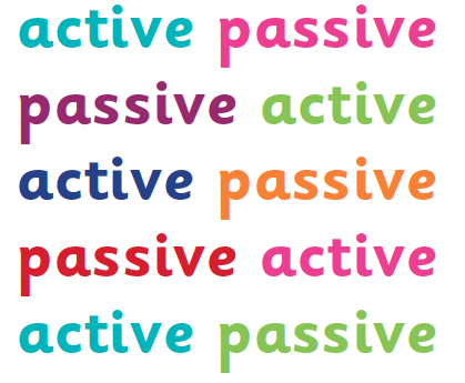 Active and passive voice in sentences explained | Active and