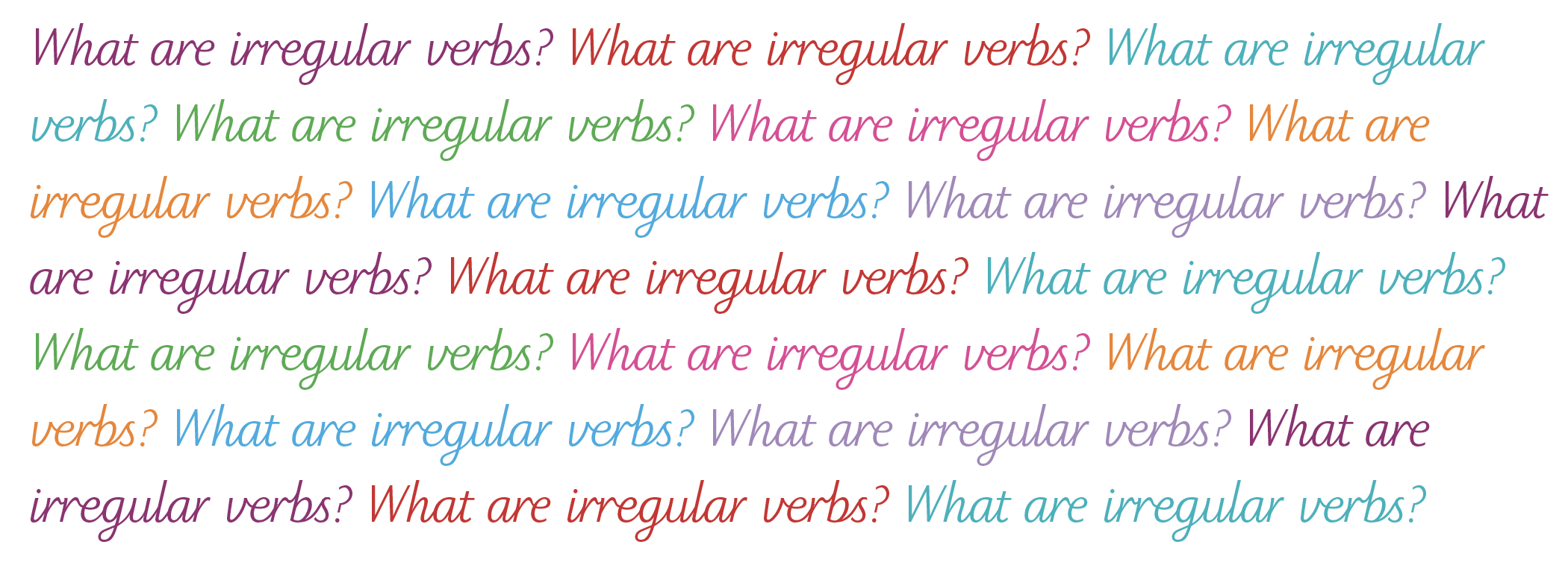 english irregular verbs explained irregular verbs in ks2 irregular verbs in primary. Black Bedroom Furniture Sets. Home Design Ideas