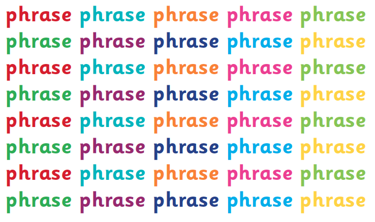 What is a phrase? | Phrases explained for parents | Phrases in ...
