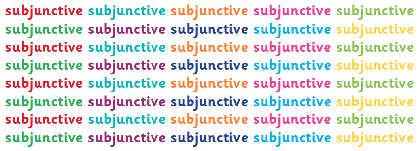 What Is The Subjunctive Ks2 Grammar The Subjunctive Form