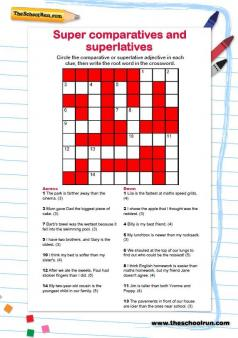 KS2 English puzzles and worksheets | TheSchoolRun