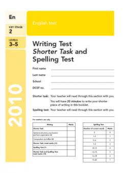 ks2 english sats papers