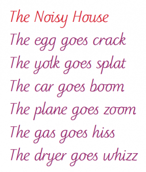 Poems For Kids Onomatopoeia Poem Png