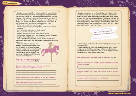 Reading comprehension learning pack p9-10