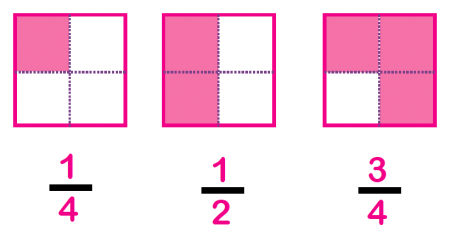 One Half Fraction Rectangle | www.pixshark.com - Images ...