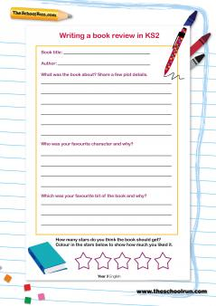 write a book review ks2 past