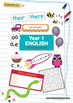 KS1 English booster pack