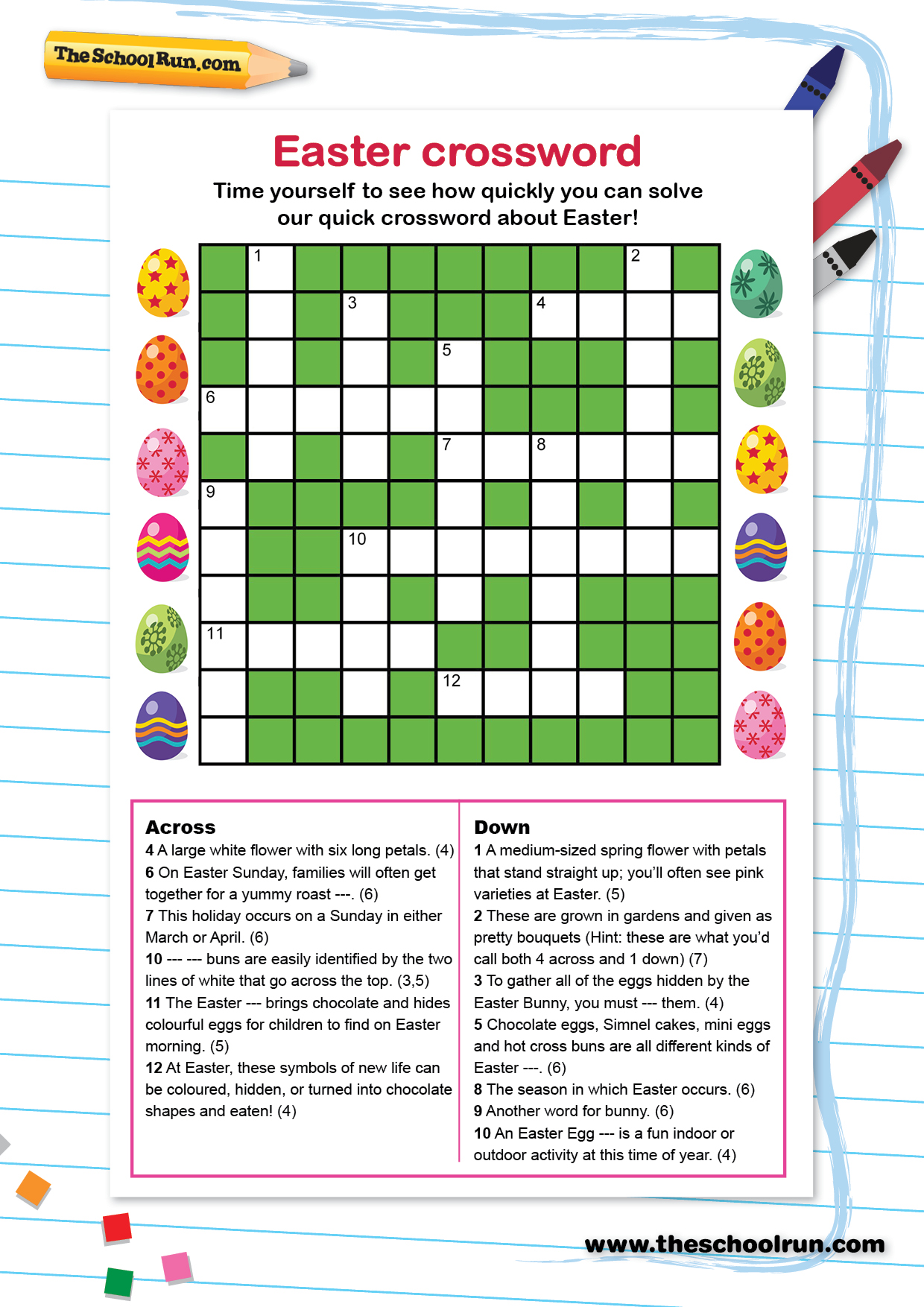 Word Puzzles For Primary School Children