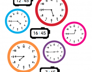 Telling the time | 12-hour clock | 24-hour clock | digital | analogue ...