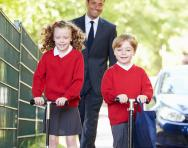 Be more active on the school run
