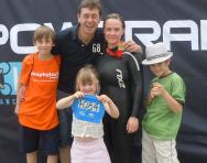 Berthelsen family (Harris, far left)