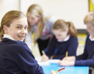Primary children in the classroom