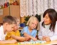 Children in a year 1 classroom