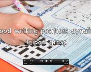 Dynamic tripod grasp explanation video