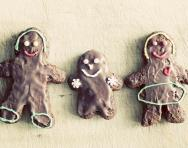 Gingerbread family