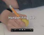 Handwriting aids for children video