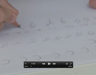 Handwriting letter families video