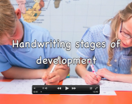 Handwriting stages of development explained for parents video