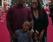 Louisa Barnieh and family