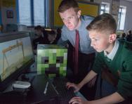 Minecraft in school