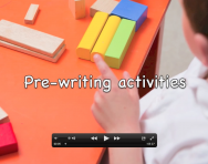 Pre-handwriting activities video