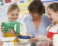 Primary-school cooking curriculum
