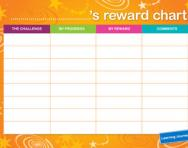 Learning Journey reward chart