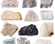 Rock specimens