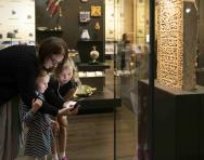 Family learning activities at the British Museum in London
