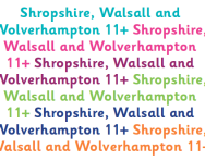 Shropshire, Walsall and Wolverhampton 11+ parents' guide