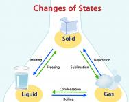 What are states of matter?