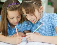 Story writing in primary school