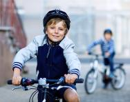 Teach your child to cycle safely