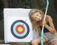 Archery, fencing and life saving for kids