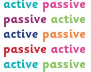 Active and passive sentences explained