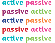 Active and passive sentences explained