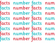 What are number facts?