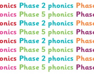 What are phonics phases?