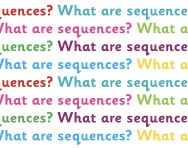 What are sequences?