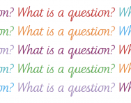 What is a question?