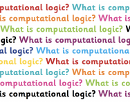What is computational logic?